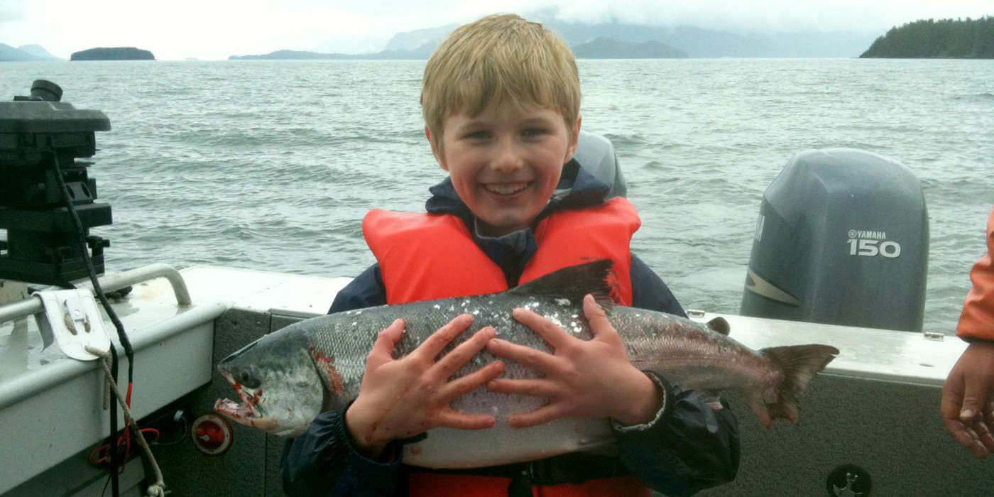 Kids can fish too!